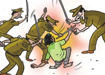 Bhubaneswar Man assaults woman, then attacks policemen; read on to know what followed