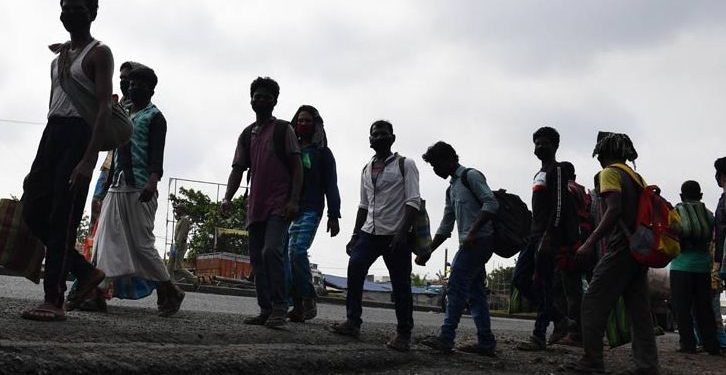 Bolangir migrants start going back to workplaces