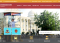 A screenshot of the revamped website of Cuttack-Bhubaneswar Commissionerate Police