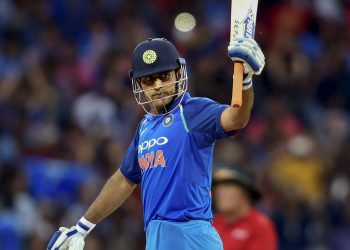 Dhoni announces retirement from international cricket, on Saturday, Aug. 15, 2020. (PTI Photo)