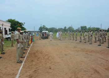 Ganjam police accord Guard of Honour to ASI who fell victim to COVID-19 in the line of duty