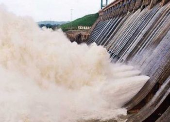 Hirakud dam opens eighth gate to release floodwater