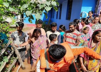 NDRF turns out godsend for these flood-trapped siblings, pregnant woman in Bhadrak