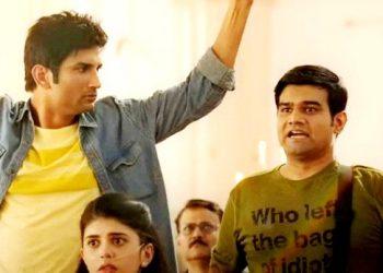 Sushant Singh Rajput and Sahil vaid
