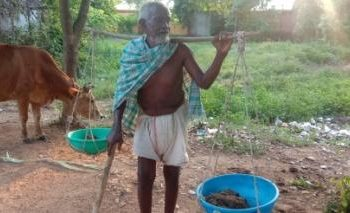 The 86-yr-old manure man of Loisingha
