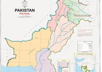 New Pak Map.