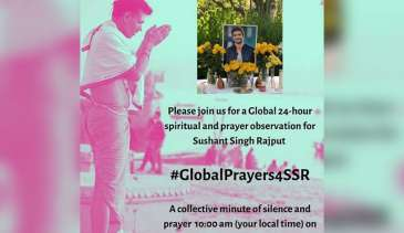 Sushant Singh Rajput's sister,calls for 'Global prayer meet' for Sushant on Independence Day