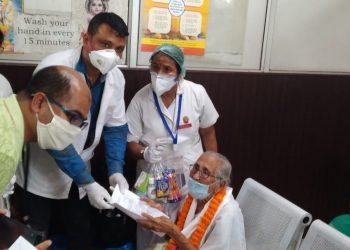 100-years-old Assam woman beat Covid-19.