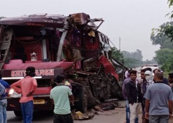 7 from Ganjam dead, several injured as bus collides with truck in Chhattisgarh