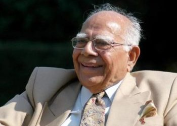 Ram Jethmalani (Photo source: sundayguardianlive.com)