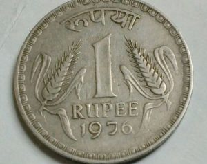 Coins with no symbol below the year