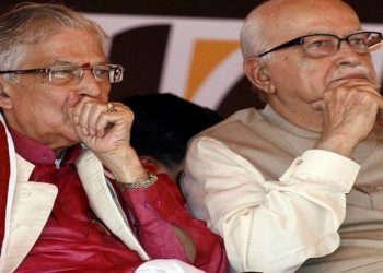 LK Advani and MM Joshi