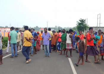 Locals protest cremation of Covid-19 victim's body
