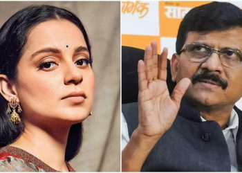 Sanjay Raut and Kangana Ranaut