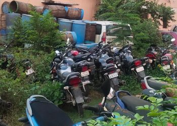 Seized vehicles become a head ache for Angul law enforcers