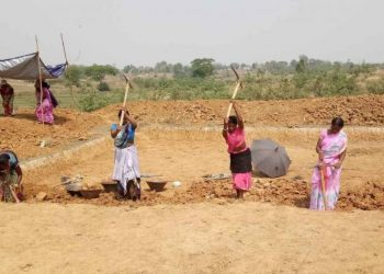Swabhiman people seek 200 workdays