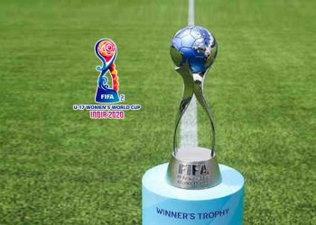 Women's U-17 World Cup trophy