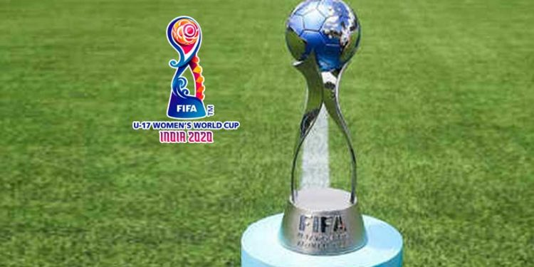 Women's U-17 World Cup trophy