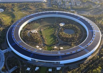 Apple headquarters (Image courtesy: New York Times)
