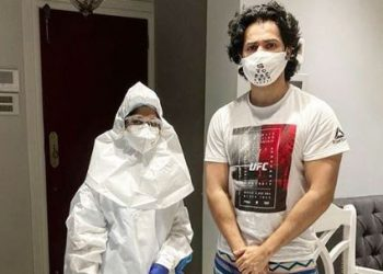 Varun Dhawan gets COVID-19 test done as he gets ready to resume shoot