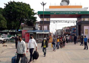 India-Nepal border (Representational image)