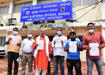 Ahead of Tirtol by-election, Jatni MLA Suresh Routray demands replacement of Jagatsinghpur District Collector