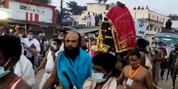 Chhatar Jatra passes off peacefully sans devotees