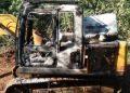 JCB machine set on fire in Maoist-infested Koraput district