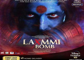 Laxmmi Bomb poster