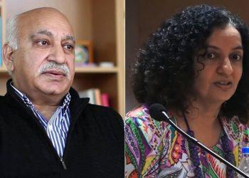 MJ Akbar and Priya Ramani