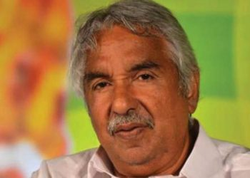 Congress leader Oommen Chandy