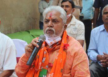 BJP Leader Prem Kumar(Image courtesy Twitter)
