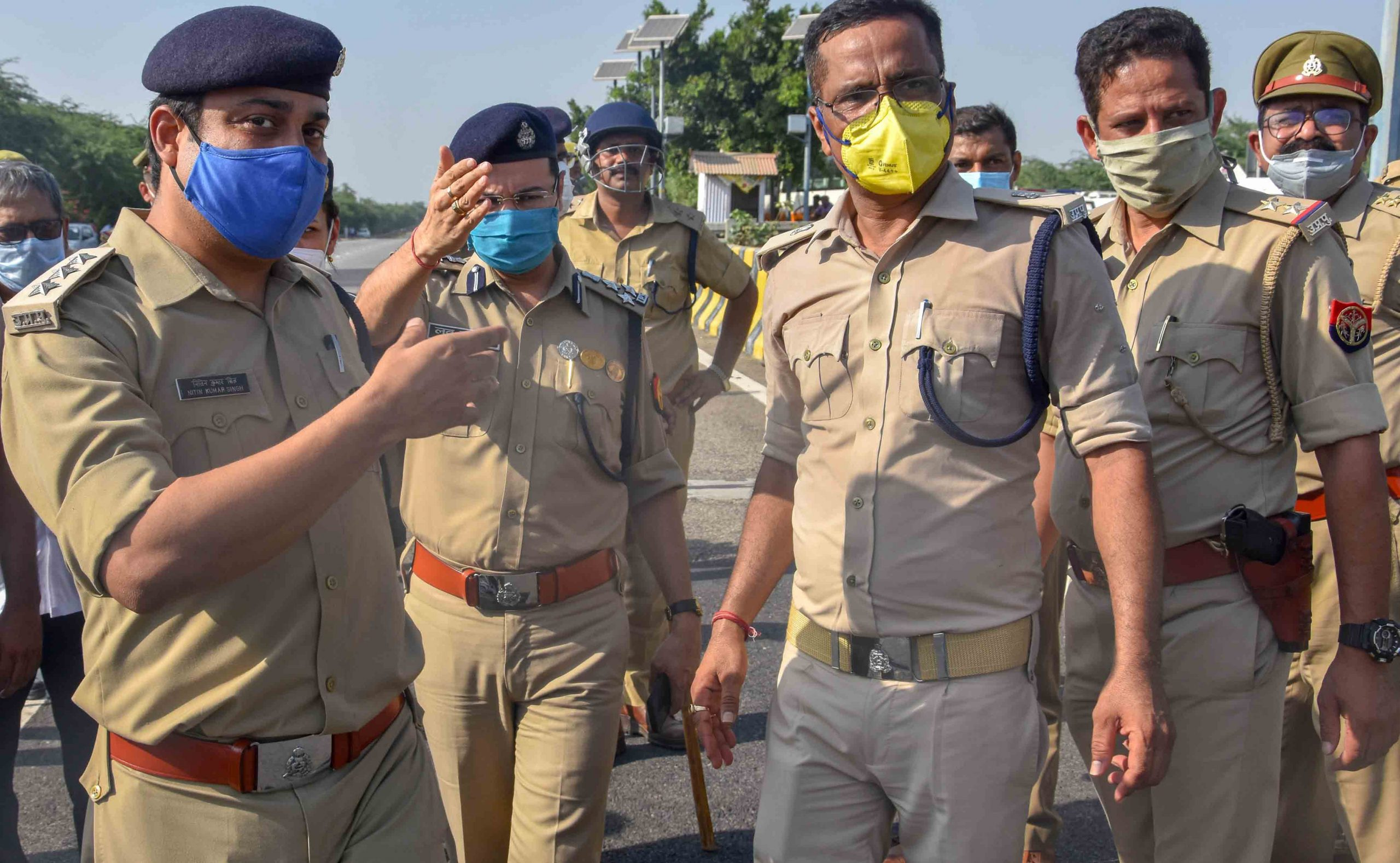 Family of Hathras gang rape victim leaves to appear before