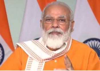 PM Modi greets people as Navratri begins