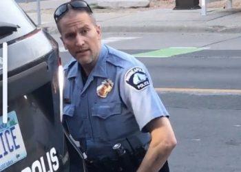 Ex-cop Derek Chauvin(Image courtesy Twitter)