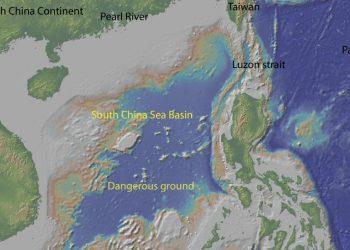 South China Sea. Map - Wikimedia/ Commons