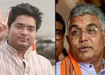 Abhishek Banerjee and Dilip Ghosh