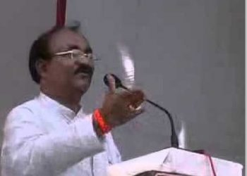 File photo of former Rajya Sabha member Bhagirathi Majhi