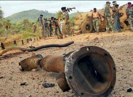 CRPF CoBRA officer killed, 7 commandos injured in IED blast in Chhattisgarh