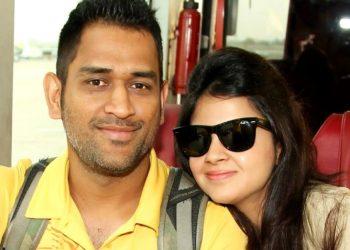 MS Dhoni and Sakshi
