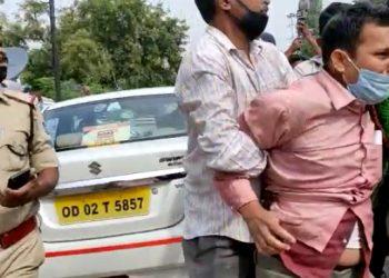 Pari death case Parents attempt self-immolation in Bhubaneswar