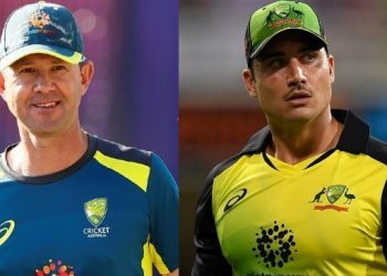 Ricky Ponting and Marcus Stoinis