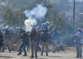 Tear gas