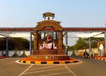 File photo of an entrance to Utkal University in Bhubaneswar. (Photo source: utkaluniversity.nic.in)