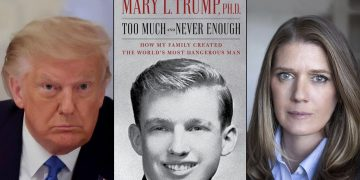"A screenshot of the book titled ""Too Much and Never Enough: How My Family Created the World's Most Dangerous Man""(PC: news.cgtn.com)"