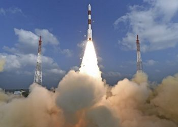 India's PSLV rocket lifts-off with radar imaging satellite