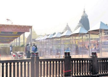 After nine months, Puri Jagannath Temple opens for devotees