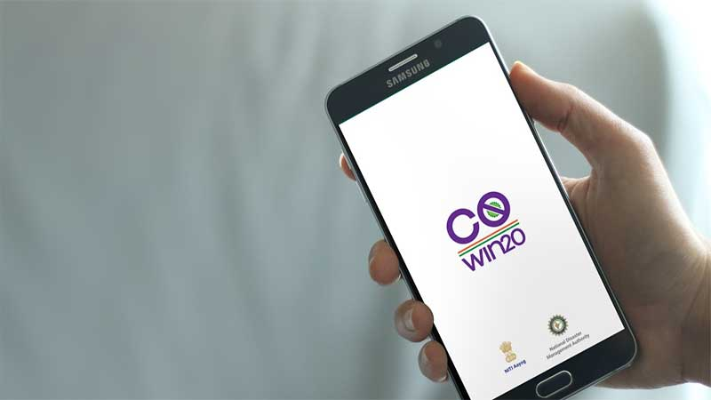 Co-WIN mobile app