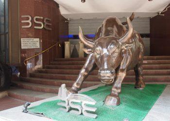 bull run BSE sensex Wikimedia
