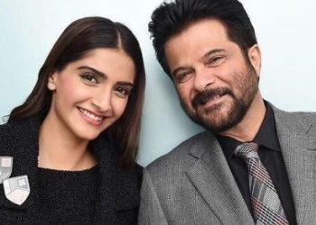 'Blessed to have your values instilled in us,' Sonam wishes father Anil Kapoor on his b'day